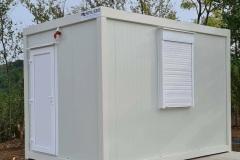 kancelarijski kontener 3,60x2,43x2,60 sa sanitarnim čvorom