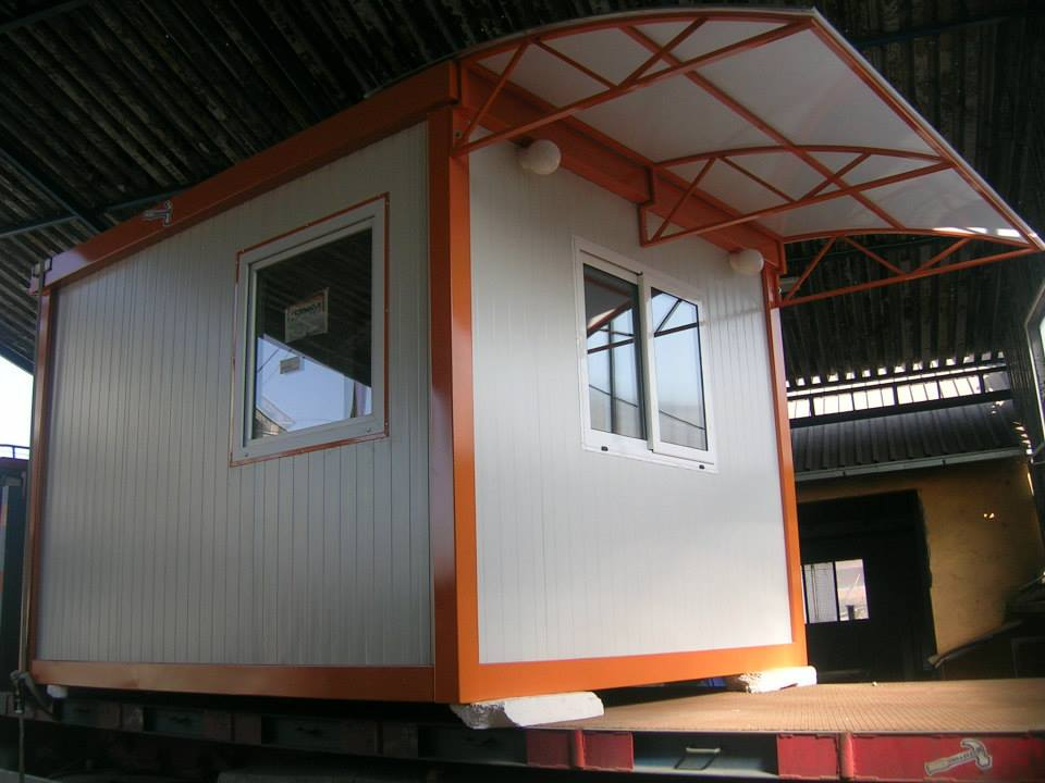 Kontejner portirnica sa nadstrešnicom