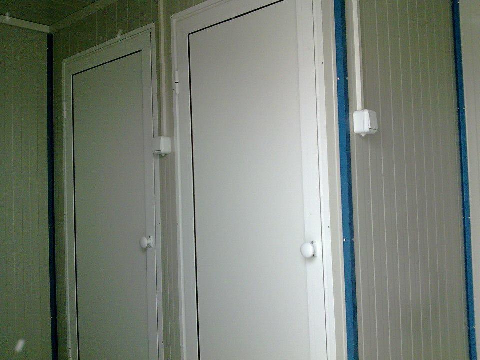 Unutrašnjost sanitarnih kontejnera