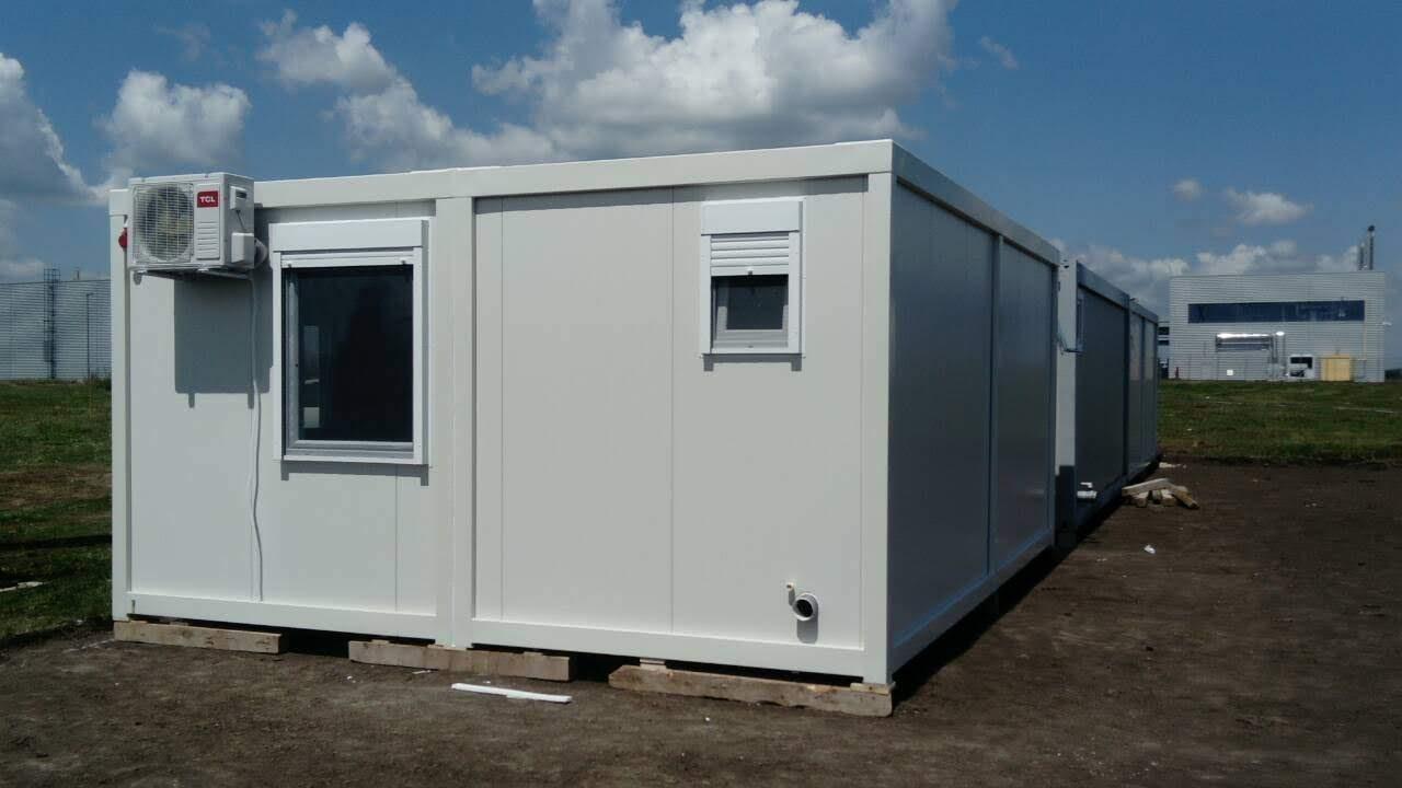 Dupli kontejner 6,00x4,80x2,60m sa sanitarim čvorom.